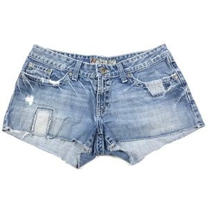 BKE Denim Alli Cut Off Denim Jean Shorts